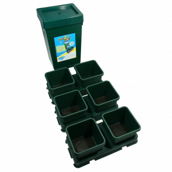 Easy2Grow 6 Potten Systeem Starter Set Met Vat