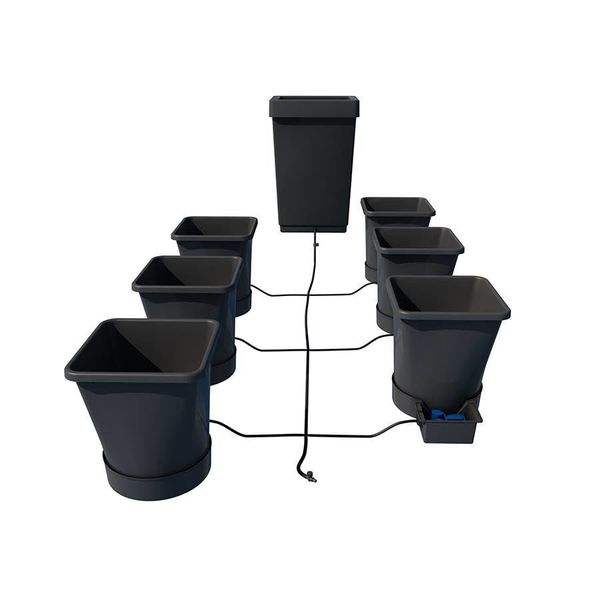 1Pot XL 6 potten systeem Starter Set met vat