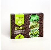 Bio Bestrijding Soni-mite system zakjes roofmijt tegen spint
