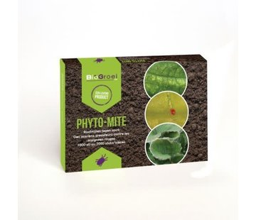 Bio Bestrijding Phyto-mite Phytoseiulus  Roofmijt tegen Kasspint