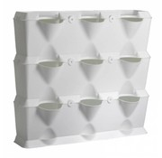 Minigarden Vertical White 3 Module Starter Kit