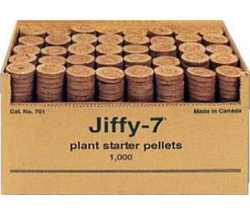 Jiffy 7 Ø41 mm doos 1000 stuks