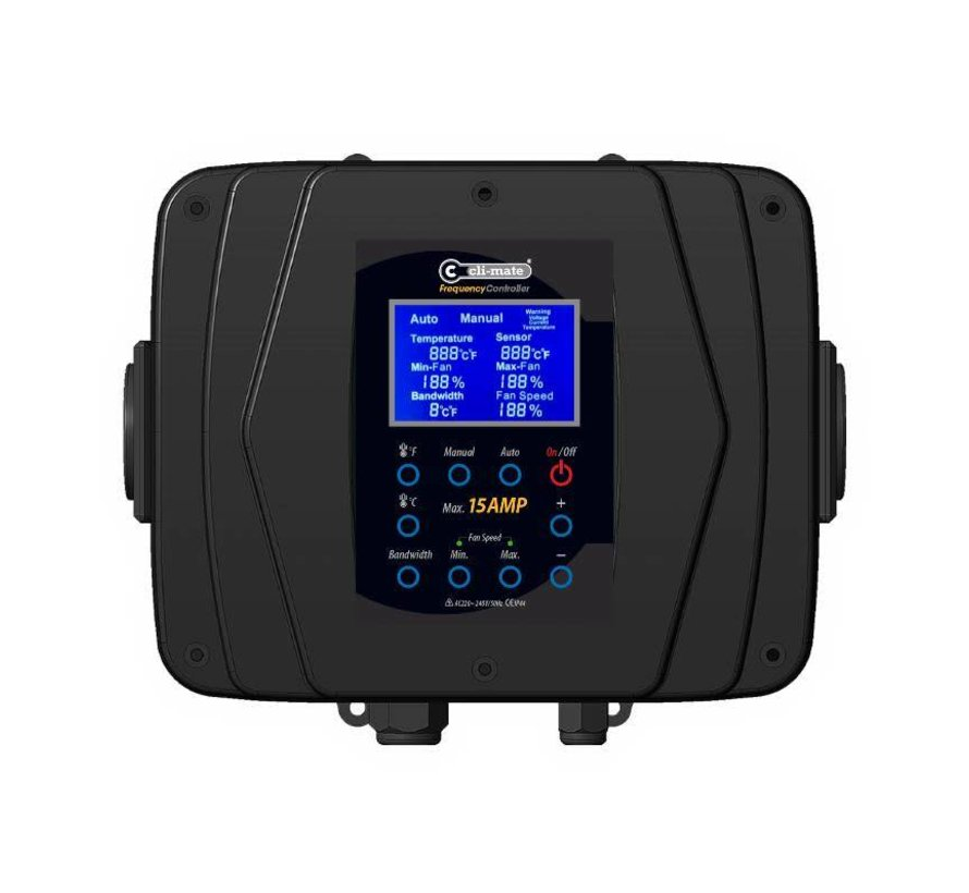 Cli-Mate Frequency Controller FC2010T Serie - 3A, 7A of 15A