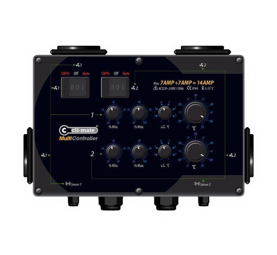 Cli-Mate Multi Controller MC Serie - 14A, 24A of 32A