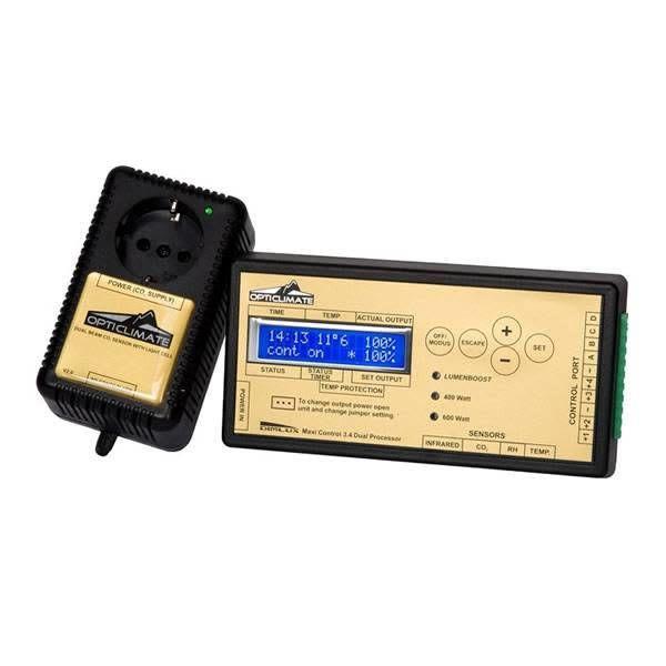 Maxi Controller & Co2 Sensor