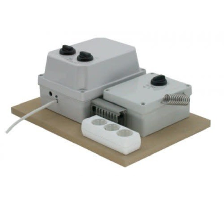 S-vent Automatische Dimmer - 2x 7A of 2x 11A