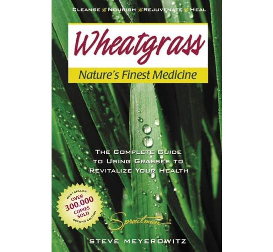 Wheatgrass, nature's fine medicine, Engels