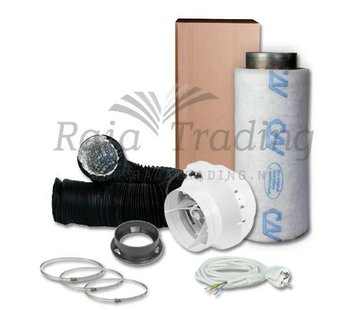 S-vent BKU 150 Ventilatie Set max 495 m3 /h