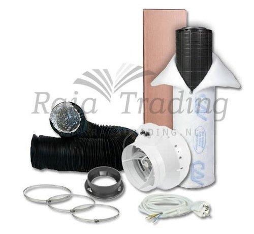S-vent BKU 125 Ventilatie Set max 365 m3/h