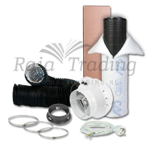 BKU 125 Ventilatie Set max 365 m3/h