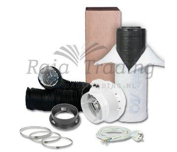 S-vent BKU 100 Ventilatie Set max 250 m3 /h