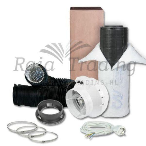 BKU 100 Ventilatie Set max 250 m3/h