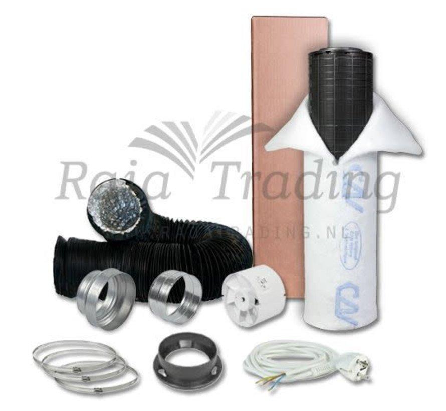 S-vent VK150 Budget Ventilatie Set 600w max 305 m³/h