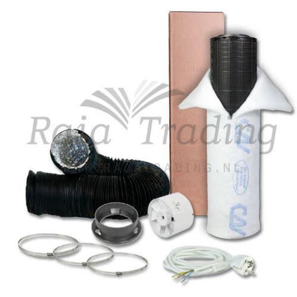 VK125 Budget Ventilatie Set 400w max 190 m³/h