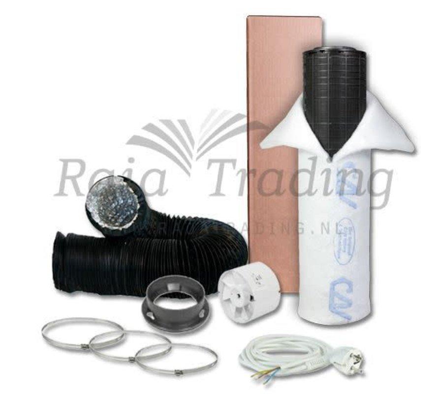 S-vent VK125 Budget Ventilatie Set 400w max 190 m³/h