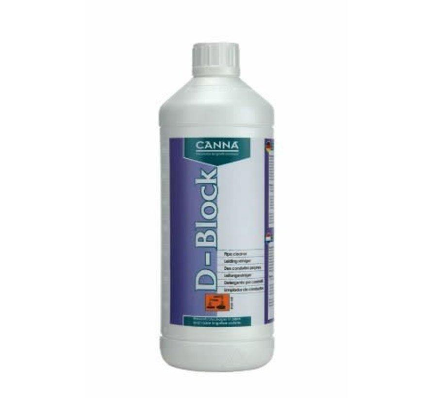 Canna D Block (System Cleaner) 1 Liter