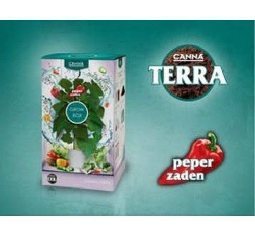 Canna Terra Grow Box Peper