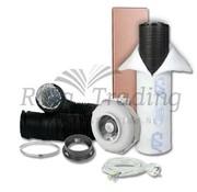 Can Fan RK 100 Kit de Ventilación 400w max 240 m³/h
