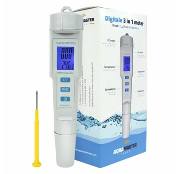 Aqua Master Tools 3 in 1 Meter Digitaal