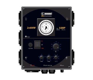 Cli-Mate Mini Controller 2x 600 Watt 3 Ampère