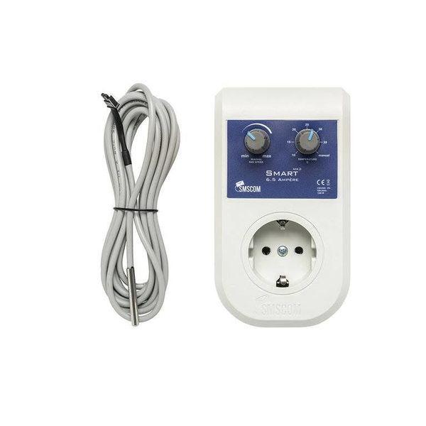 Smart Controller Mk2 EU max 6.5A met Temperatuur Sensor
