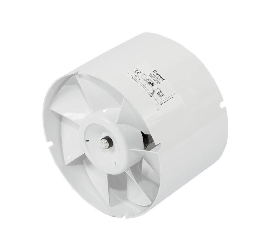 S-vent VK 100 max 107 m³/h Buisventilator