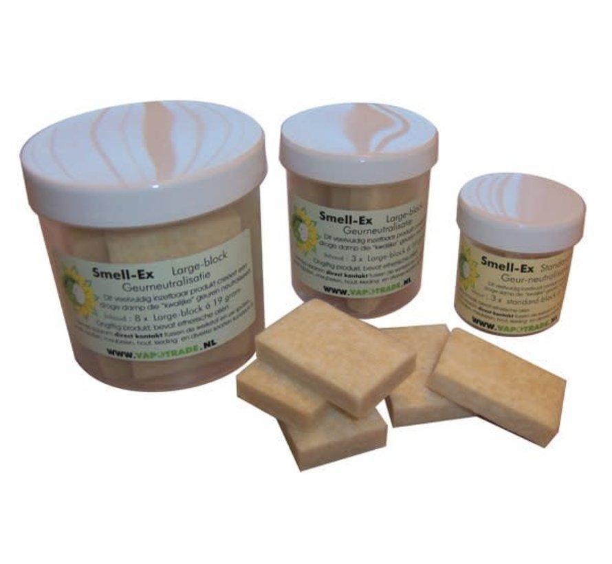 Vaportek Pot 7 x 10 gr. Smell-ex standaard blok