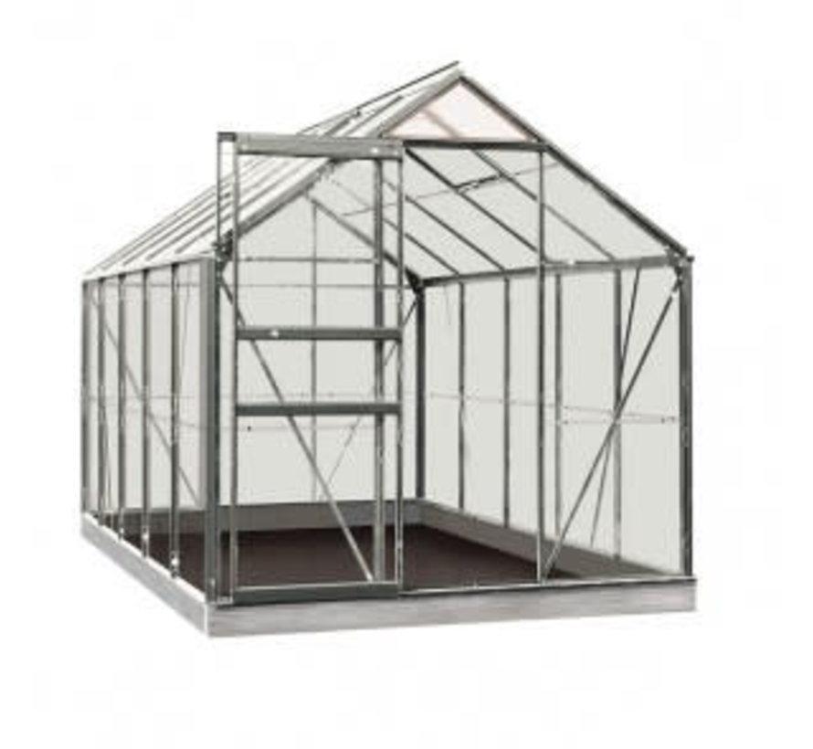 ACD Tuinkas Lily 6,2 m2 aluminium 319 x 193 x 195 cm