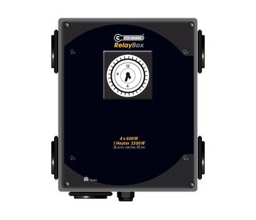 Cli-mate VOI-Box Schakelkast 4x600 Watt