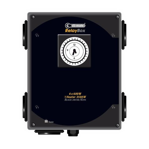 VOI-Box Schakelkast 4 of 8 x 600 Watt
