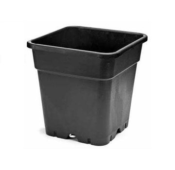 Kweekpot Vierkant 25 Liter 33x33 cm Zwart