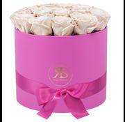 Rosuz Flowerbox Longlife Ciara Wit