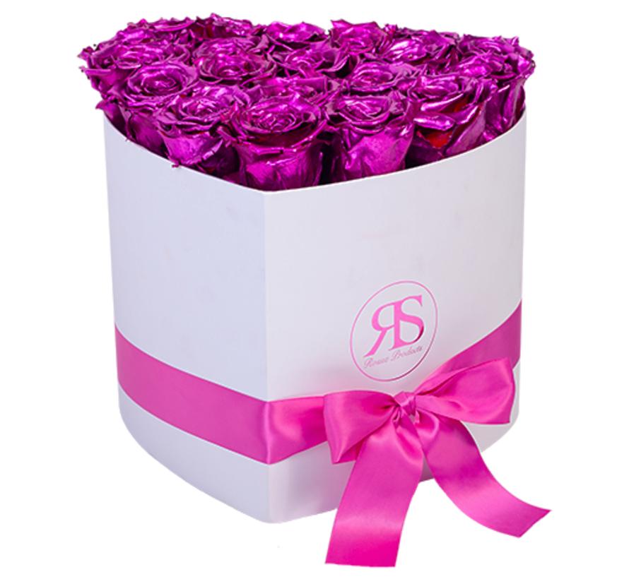 Flowerbox Longlife Ella Metallic Roze