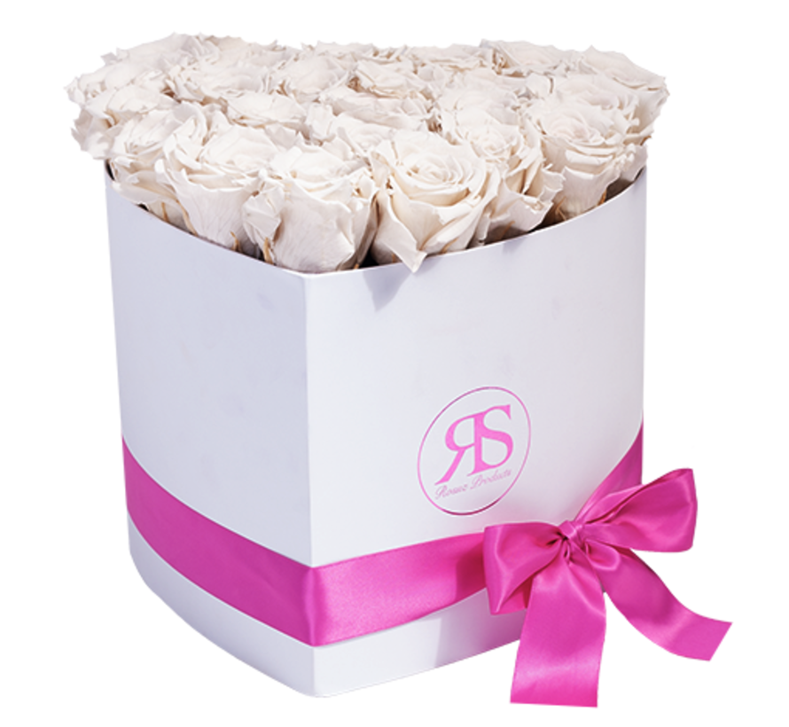 Rosuz Flowerbox Longlife Ella Wit