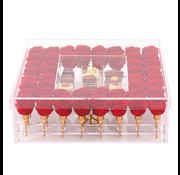 Rosuz Flowerbox Longlife Khloe Rojo