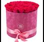 Flowerbox Longlife Suzy Dunkelrosa