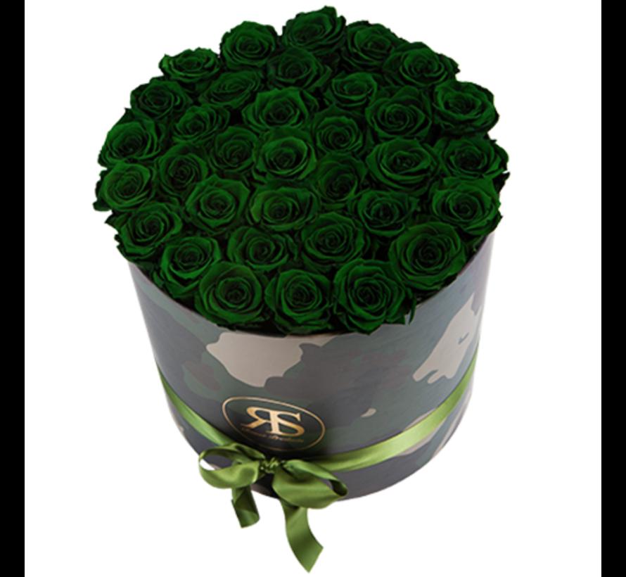Rosuz Flowerbox Longlife Rihanna Dunkelgrün