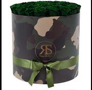 Rosuz Flowerbox Longlife Rihanna Dark Green