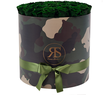 Rosuz Flowerbox Longlife Rihanna Donker Groen