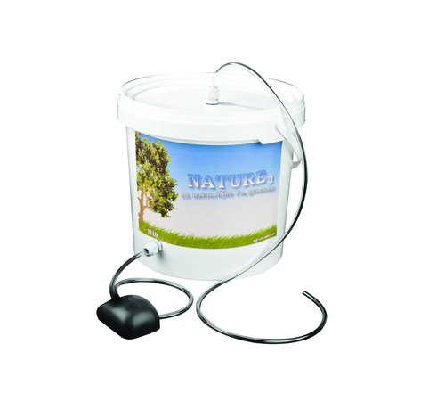 One Dutch Products 52/5000 Nature 2 CO2 boost Bucket 5 Liter + Pump complete set