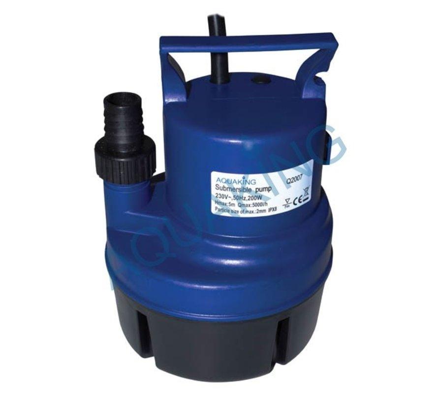 AquaKing Watervat 160 liter Opvouwbaar Irrigatieset