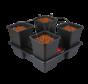 Compleet Groot Kweeksysteem 4 Potten 11L