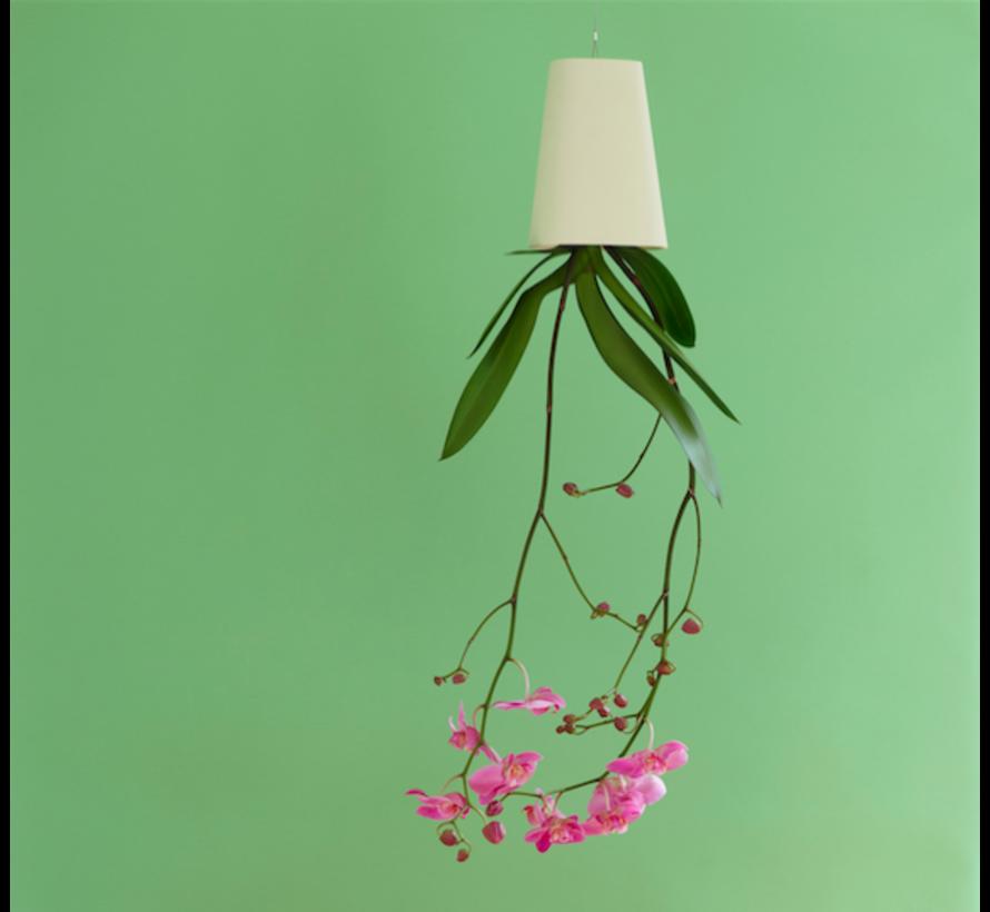 Boskke Sky Planter Recycled Bloempot Wit Klein