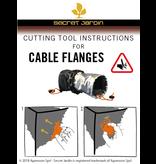 Secret Jardin Cable Flange Kabeldoorvoer