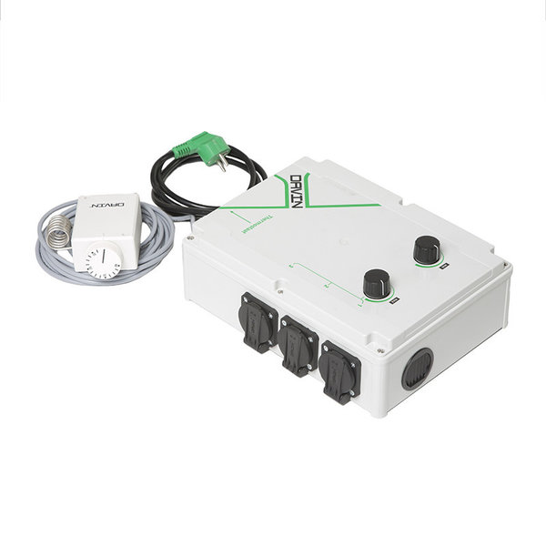 Fan Controller DV-11T 16AMP met Thermostaat