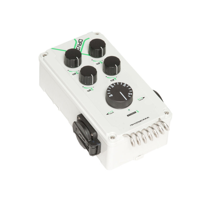 Fan Controller DV-11TII 2x6AMP met Thermostaat