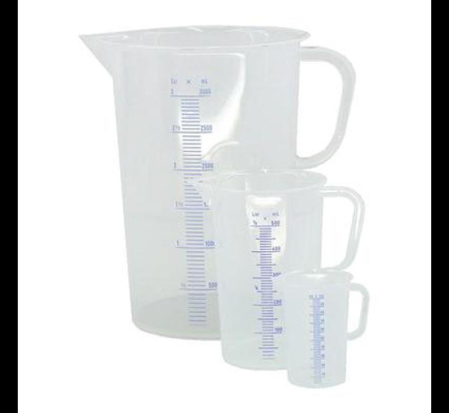 Maatbeker 2 Liter Kunststof