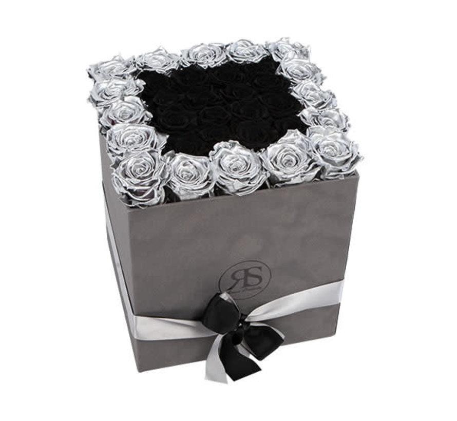 Rosuz Flowerbox Longlife Celine Metallic