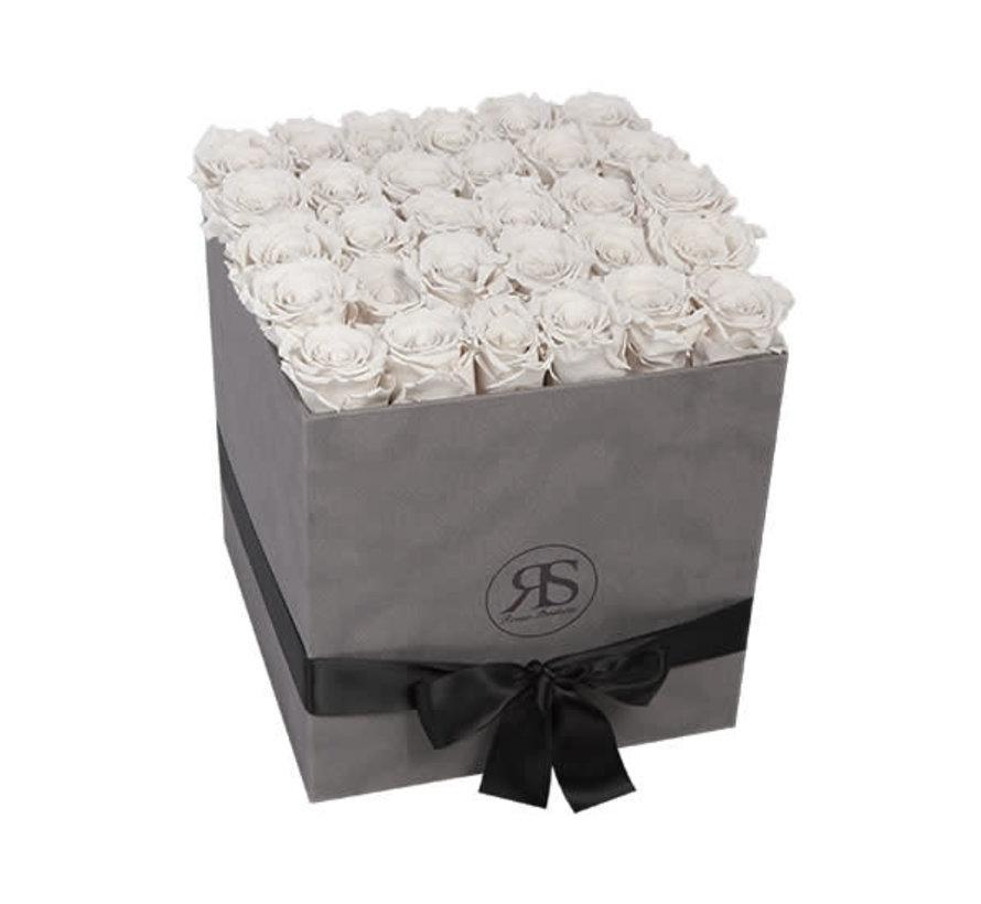 Rosuz Flowerbox Longlife Celine Wit