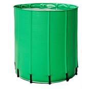 AquaKing Barril de Agua 750 Litros 100x100x100 cm Plegable